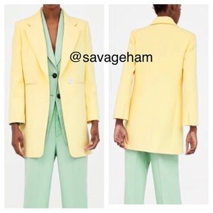 Zara Jackets & Coats - Zara women's Straight Cut Frock Coat